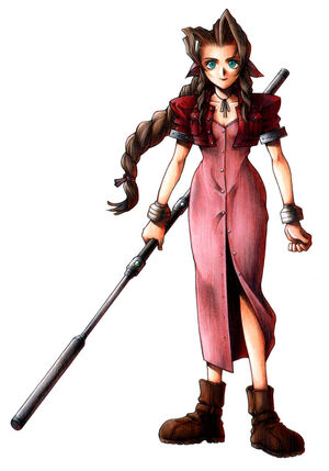 Aerith Gainsborough Nomura art