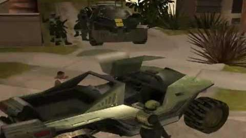 GTA Halo Total conversion video preview 2