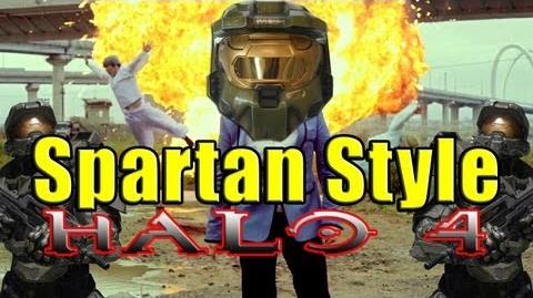 """Spartan Style"" A Parody of PSY's Gangnam Style (Halo 4)"