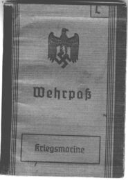 Wehrpass-cover