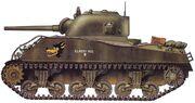 Sherman M4A3(75)1945