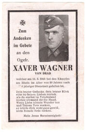 Xaver Wagner