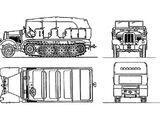 7.62cm Flak 296 (r) auf Zugkraftwagen 5t Sd.Kfz. 6