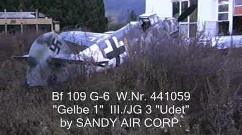 Bf-109 G- 6 W.Nr