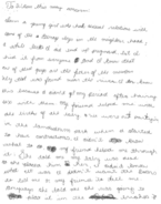 Baby Parker letter 2