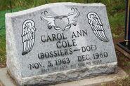 Carol Cole Grave