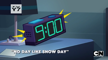 No Day Like Snow Day title card