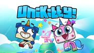 Unikitty youtube logo