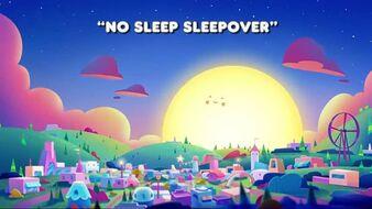 No Sleep Sleepover Title
