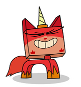 Red unikitty