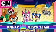 Unikitty Uni-TV News Team Cartoon Network