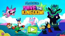 Save the Kingdom! Title screen