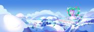 Panoramic snow day unikingdom