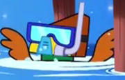 Snorkel hawkodile