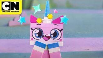 LEGO Unikitty Throwing Down Cartoon Network