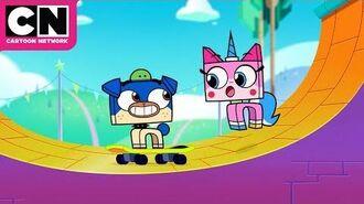 Unikitty Kickflip McPuppycorn Cartoon Network