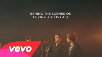 Union J - Loving You Is Easy (Behind the Scenes)