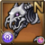 Gear-Skeleton Dog Icon