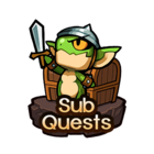 Quest-Sub Quests Button