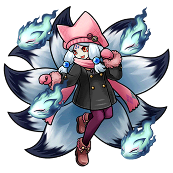Gear-Casual Style Ninetails Render