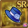Gear-Mini Navy Top Hat Icon