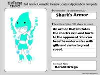 Cosmetic Design Contest-Shark's Armor Series Entry