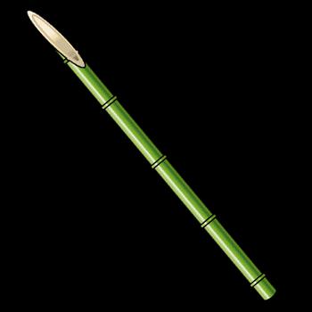 Gear-Bamboo Spear Render