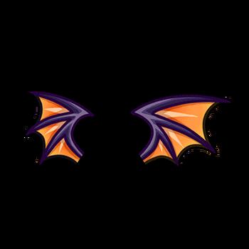 Gear-Halloween Devil Wings Render