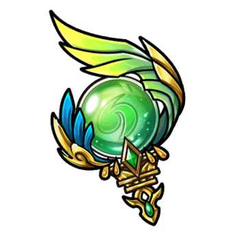 Gear-Emerald Spirit Orb Render