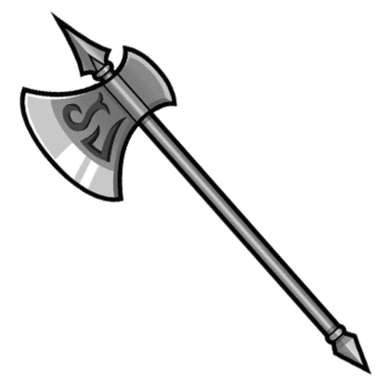 Gear-Halberd Render