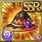 Gear-Harvest Clown Witch Hat Icon
