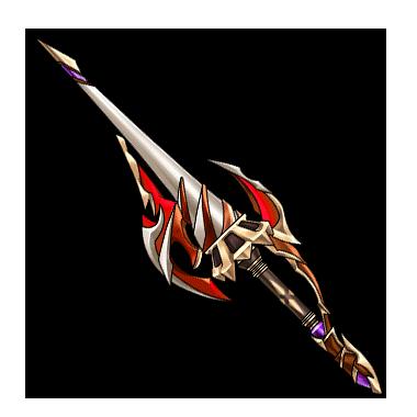Gear Dragon Knight Lance Render