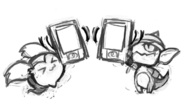 Limimin and Goblin Rough Sketch 001