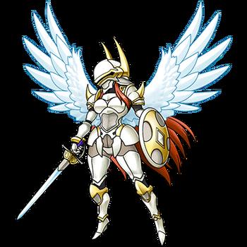 Gear-Exia Knight Render