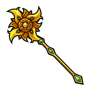 Gear-Sun Staff Render