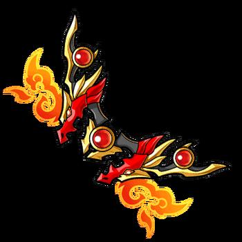 Gear-Bow of the Blaze Dragon Render