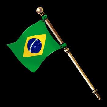 Gear-Flag of Brazil Render