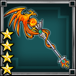 Gear-Phoenix- Bird Staff Weapon Icon (Three Kingdoms Smash!)