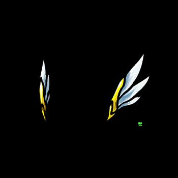Gear-Angel Wings Render
