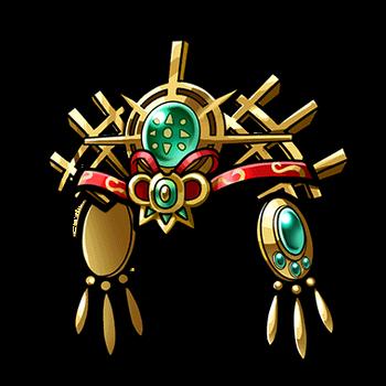 Gear-Amaterasu's Headdress Render