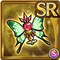 Gear-Butterfly Rose Icon