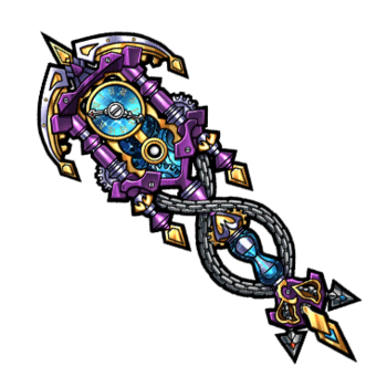 Gear-Kronos' Treasure Staff Render