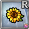 Gear-Sunflower Hair Clip Icon
