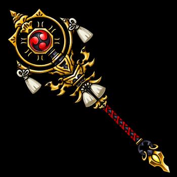 Gear-Divine Courage Staff Render