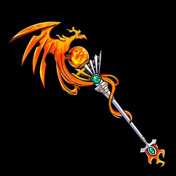 Gear-Phoenix- Bird Staff Render