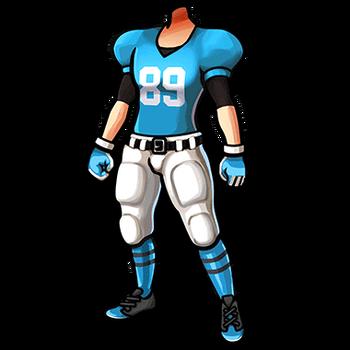 Gear-Football Uniform (Growl) Render