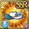 Gear-White Dame's Hat Icon