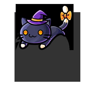 FileGear Friendly Black Cat Render