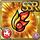 Gear-Red Dragon Barrette Icon