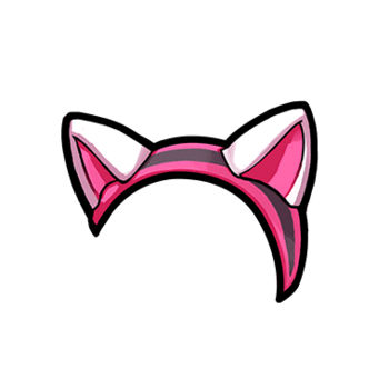 Gear-Cat Ear Headband Render